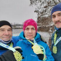 2021_01_16 6_ Unsere Troika - Eric (re.), Kerstin und Frank Thomas im Steinbruch Wolfsberg
