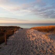 2021_01_17 Sonnenuntergang am Strand von Neuhaus_1 - von Anja Miehlke