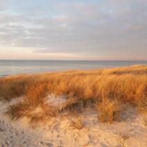 2021_01_17 Sonnenuntergang am Strand von Neuhaus_2 - von Anja Miehlke