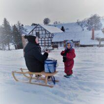 2021_01_17 Winterwanderung in Nordhausen_1 - von Monika Chour