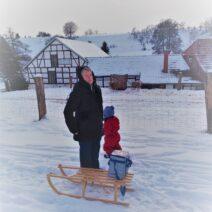 2021_01_17 Winterwanderung in Nordhausen_2 - von Monika Chour