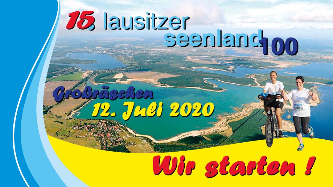 Lausitzer Seenland 100 wird starten!