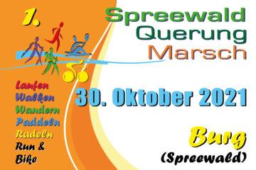Spreewald-Querung   Spreewald-Marsch 2021