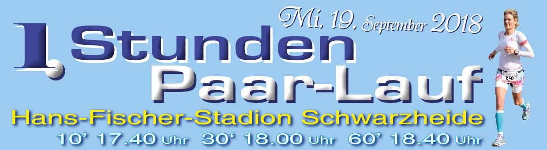 1. Stunden-Paar-Lauf am 19.09. in Schwarzheide