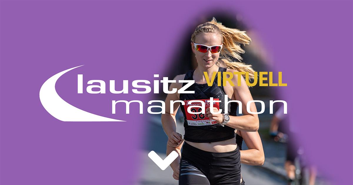 Lausitz-Marathon virtuell