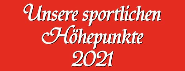 Vorschau Veranstaltungen 2021
